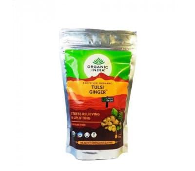 Чай Тулси с Имбирем Органик Индия / Tulsi Ginger Organic India - 100 гр