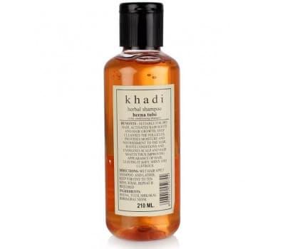 Шампунь Хна Тулси Кхади / Shampoo Heena Tulsi Khadi - 210 гр (Для Сухих Волос)