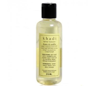 Шампунь Мед Ваниль Кхади / Shampoo Honey Vanilla Khadi - 210 гр (Питательный)