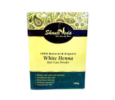 Бесцветная хна для волос/White Henna hair care powder,100 гр
