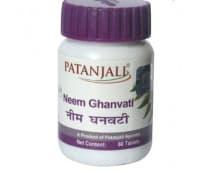 Ним Гханвати Патанджали/Neem Ghanvati Patanjali,60 таб(Для кожи)