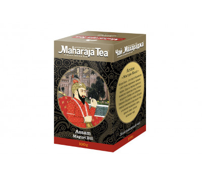 Чай черный Ассам Магури Билл  Махараджа / Assam Maguri Bill Maharaja Tea - 100 гр