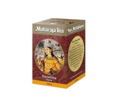 Чай черный Дарджилинг Тиста Махараджа / Darjeeling Tiesta Maharaja Tea - 100 гр