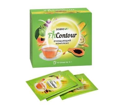 """Чай для похудения """"FitContour"""", Dobrovit"""