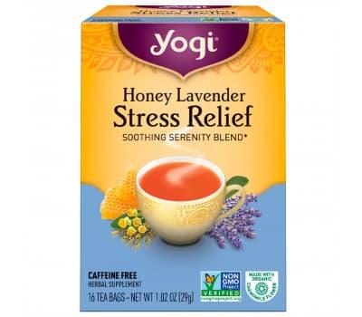 YOGI TEA Успокаивающий чай без кофеина, 16 пакетиков