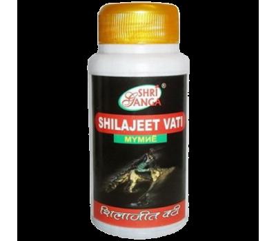 Шиладжит Вати Шри Ганга / Shilajeet Vati Shri Ganga - 120 таб (Мумиё)