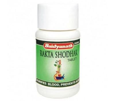 Ракта Шодак Байдьянатх / Rakta Shodak Baidyanath - 50 таб (Для Крови)