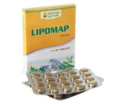 Липомап Махариши Аюрведа / Lipomap Maharishi Ayurveda - 40 таб (Для Похудения)