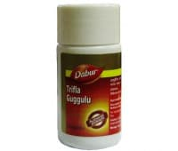 Трифала Гуггул Дабур / Trifla Guggulu Dabur - 40 таб (Очищение)