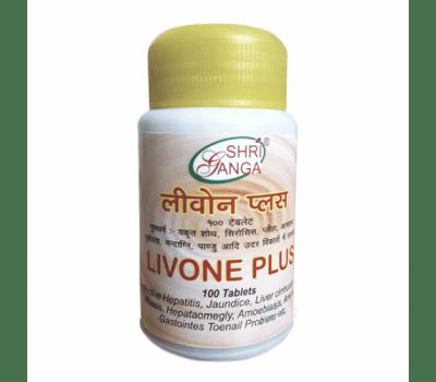Ливон Плюс Шри Ганга / Livone Plus Shri Ganga - 100 таб (Для Печени)