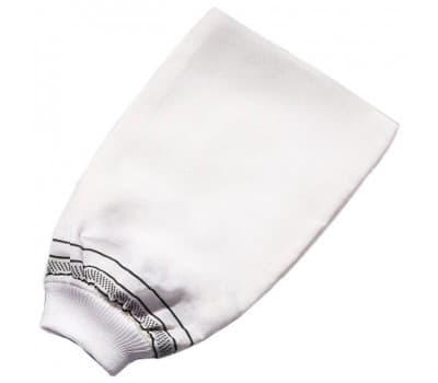 Шелковая рукавица кесе для пилинга средней жесткости
