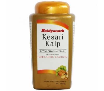 Чаванпраш Кесари Кальп Байдьянатх / Chyawanprash Kesari Kalp Baidyanath - 500 ml ( C золотом, серебром и шафраном)