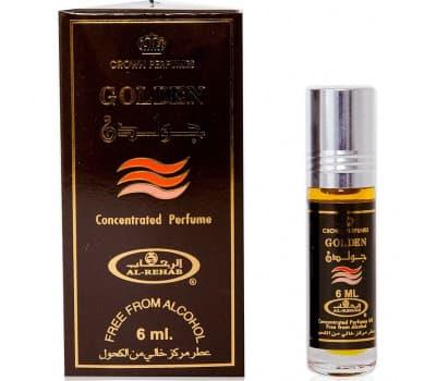 Масляные духи Голден Аль Рехаб / Golden Al Rehab - 6 гр