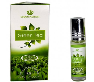 Масляные духи Зеленый Чай Аль Рехаб / Green Tea Al Rehab - 6 гр