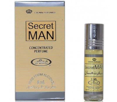 Масляные духи Секрет Мен Аль Рехаб / Secret man Al Rehab - 6 гр