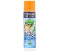"""Бальзам для губ органический """"Мандариновый бриз"""", Badger Company"""
