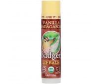 """Бальзам для губ органический """"Ваниль"""", Badger Company"""