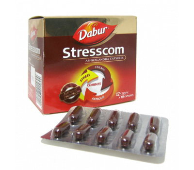 Стресском Дабур / Stresscom Dabur - 120 таб (Антистресс)