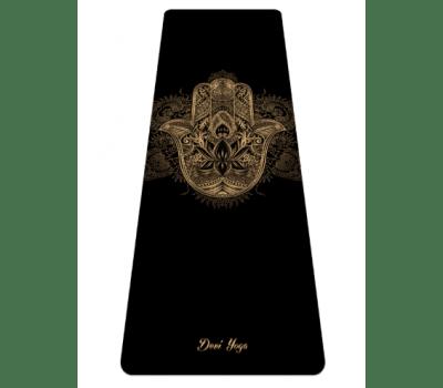 Коврик для йоги Золотая Хамса Devi Yoga - 3.5 мм
