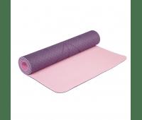 Коврик для йоги Fruits Devi Yoga с разметкой - 5 мм