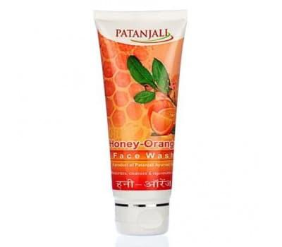 """Гель для умывания """"Мед и Апельсин"""" Патанджали / Honey Orange Face Wash Patanjali"""