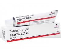 Гель Третиноин 0.025 Менарини / Tretinoin Gel U.S.P. Retino – A 0,025% - 20 гр