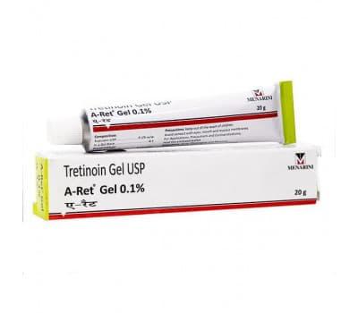 Гель Третиноин А-Рет 0.1% Менарини / Tretinoin Gel UPS A-Ret Menarini