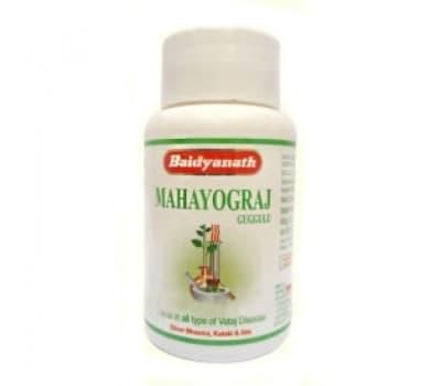 Махайогорадж Гуггул Байдьянатх / Mahayograj Guggulu Baidyanath - 40 таб (Для Костей)