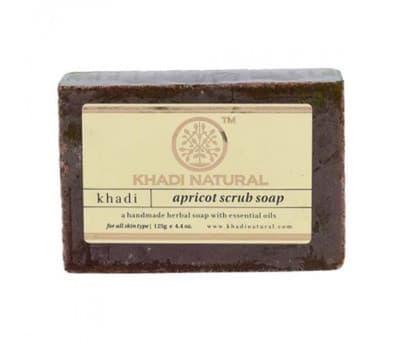 Мыло-скраб Абрикос Кхади / Apricot Scrub Soap Khadi - 125 гр