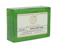 Мыло Ним Тулси Кхади / Neem Tulsi Khadi - 125 гр (Ручной Работы)