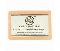 Мыло Сандаловое Дерево Кхади / Sandalwood Khadi - 125 гр (Ручной Работы)