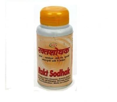 Ракт Шодхак Шри Ганга / Rakt Shodhak Shri Ganga - 200 таб (Для Крови)