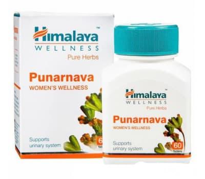 Пунарнава Гималая / Punarnava Himalaya - 60 таб (Для Почеполовой Системы)