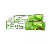 Зубная паста Ним Гвоздика Кудос / Neem Clove Toothpaste Kudos - 100 гр (Отбеливающая)