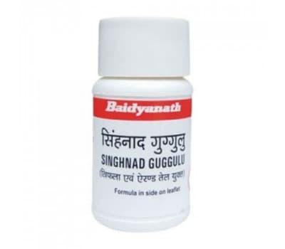 Сингхнад Гуггул Байдьянатх / Singhnad Guggulu Baidyanath - 80 таб (От Астмы и Болей в животе)