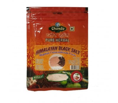 Соль черная гималайская Чанда / Himalayan Black Salt Chanda - 100 гр
