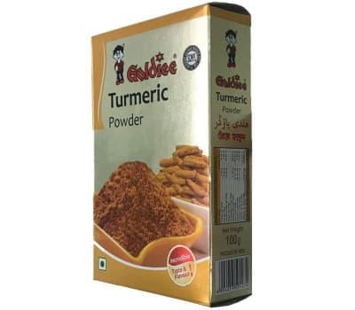 Куркума молотая Голди / Turmeric Powder Goldiee - 100 гр