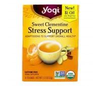 YOGI TEA Поддержка при стрессе без кофеина, 16 пакетиков / Stress Support YOGI TEA