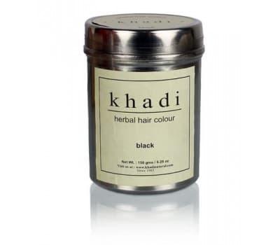 Хна для волос Черная Кхади / Herbal hair colour black Khadi