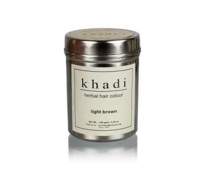 Хна для волос Светло-коричневая Кхади / Khadi