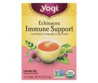 YOGI Tea Immune Support / Поддержка иммунитета, 16 чайных пакетиков
